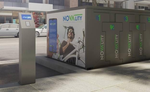 Estacionamiento subterráneo inteligente para bicicletas