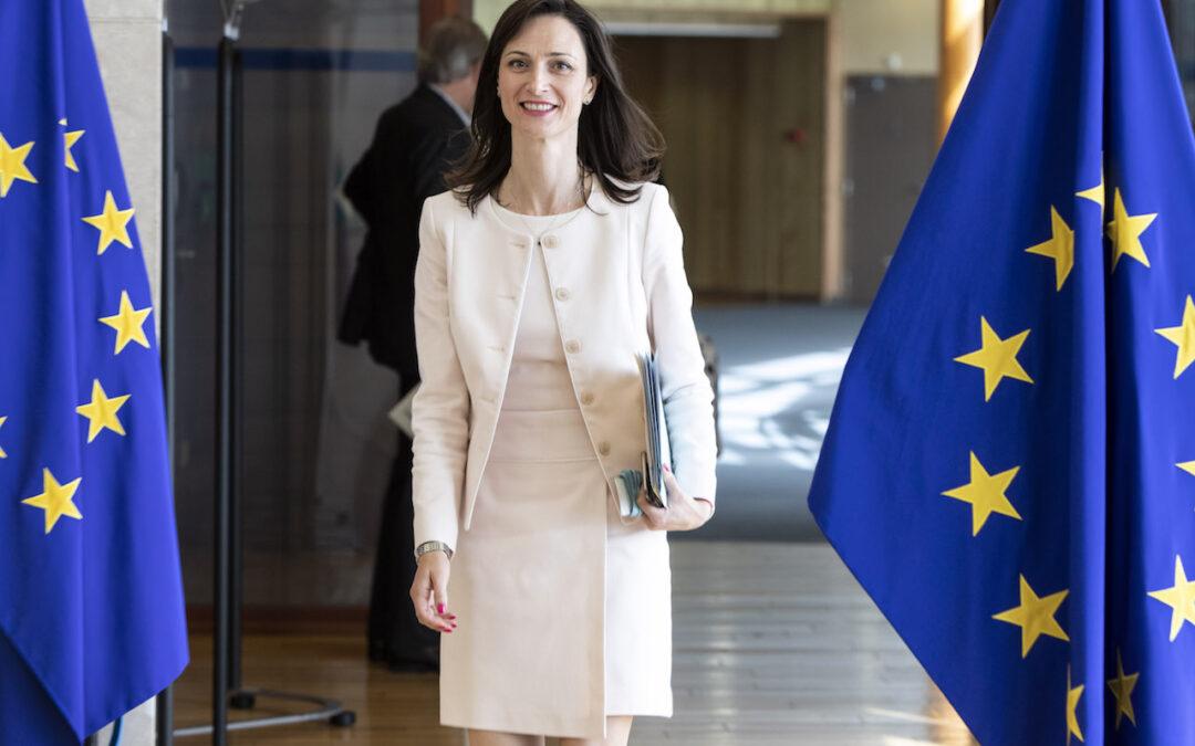 La comisaria europea de Innovación, Mariya Gabriel, inagurará Startup Olé 2021 en su primera visita a España