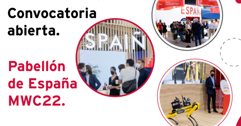 Red.es abre la convocatoria para el MWC Barcelona 2022