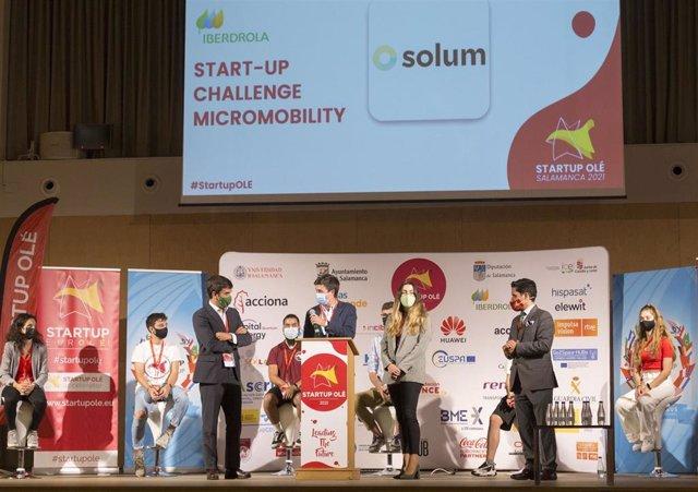 La tecnológica andaluza Solum gana el 'Start-Up Challenge. Iberdrola: Micromovilidad'